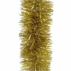 Zlatá vánoční girlanda Unimasa Navidad, délka 180 cm