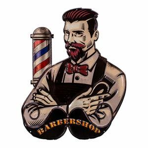 Plechová cedule Antic Line Barber Shop,41x50cm