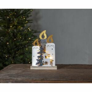 Vánoční světelná LED dekorace Star Trading Faune