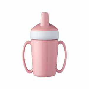 Růžová dětská lahev na vodu Rosti Mepal Trainer Mug, 200ml
