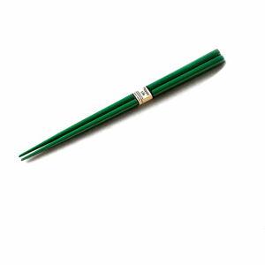 Zelené jídelní hůlky MIJ Textured