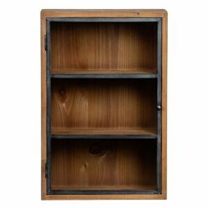 Závěsná skříňka z jedlového dřeva WOOOD Teddy, 40 x 60 cm
