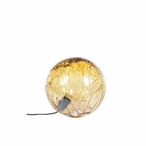 Stolní lampa ve zlaté barvě Dutchbone Lune,ø39cm