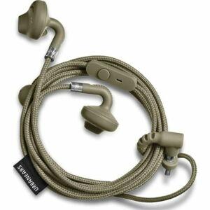 Zelená sluchátka do uší s mikrofonem Urbanears SUMPAN Moss