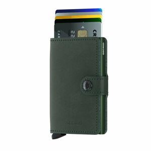 Zelená kožená peněženka s pouzdrem na karty Secrid Classic