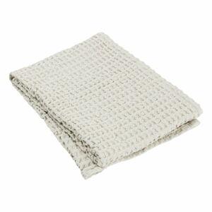 Světle béžový bavlněný ručník Blomus Moonbeam, 100 x 50 cm