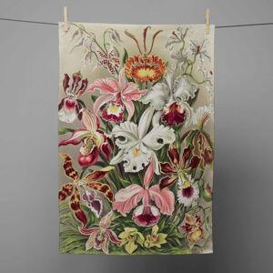 Kuchyňská utěrka Madre Selva Flower Bloom, 70 x 50 cm