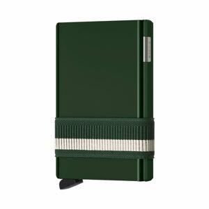 Zelená vysouvací peněženka s pouzdrem na karty Secrid