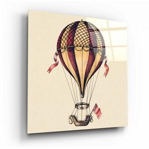Skleněný obraz Insigne Ballon Journey Towards Freedom,60 x60cm