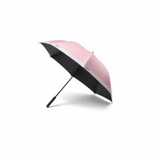 Růžový holový deštník Pantone