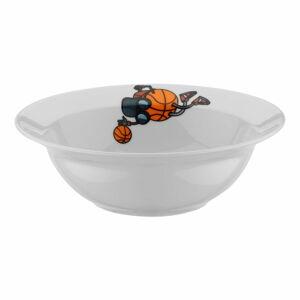 5dílný dětský porcelánový jídelní set Kütahya Porselen Basketball