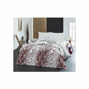 Lehký přehoz přes postel White Double, 200x235cm
