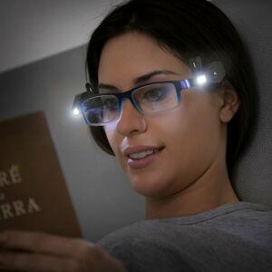 Sada 2 klipů na brýle s LED světly InnovaGoods