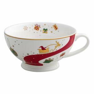 Porcelánový šálek na čaj s vánočním motivem Brandani Alleluia, ⌀ 14 cm