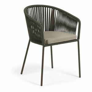 Zahradní židle se zeleným výpletem La Forma Yanet
