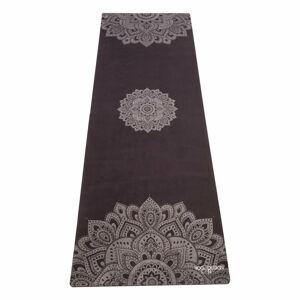 Černá podložka na jógu Yoga Design Lab Travel Mandala, 1mm