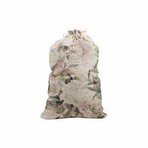 Látkový vak na prádlo s příměsí lnu Linen Couture Bag Lily, výška 75 cm