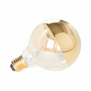 Žárovka ve zlaté barvě White Label Globe E27