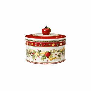 Porcelánová vánoční dóza Winter Bakery Delight Villeroy&Boch, ø 14 cm