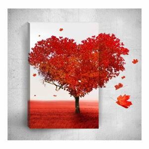 Nástěnný 3D obraz Mosticx Heart, 40 x 60 cm
