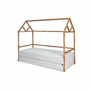 Bílá dětská postel se zásuvkou BELLAMY Lotta,90x200cm