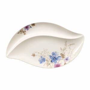 Servírovací porcelánový tác s motivem květin Villeroy & Boch Mariefleur Serve, 50 x 30 cm