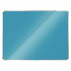 Modrá skleněná magnetická tabule Leitz Cosy, 60 x 40 cm