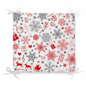 Vánoční podsedák s příměsí bavlny Minimalist Cushion Covers Ornaments,42x42cm