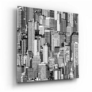 Skleněný obraz Insigne Solitude in the Crowd,40 x40cm