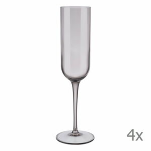 Sada 4 fialových sklenic na šampaňské Blomus Mira, 210 ml