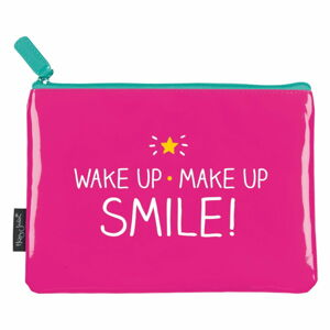 Růžová kometická taška Happy Jackson Wake Up Make Up