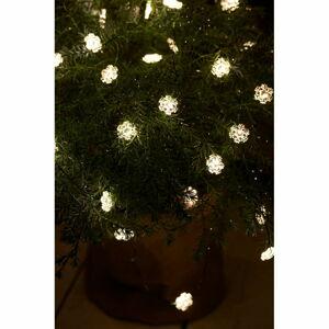 Světelný LED řetěz Sirius Nynne Green, délka 390 cm