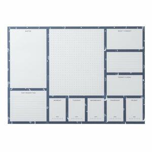 Papírový plánovač A3 Busy B Spot, 52stránek