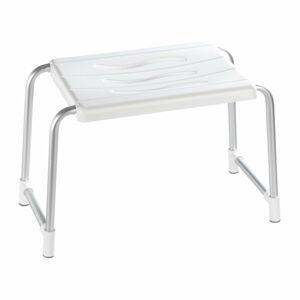 Nízká stolička do sprchy Wenko Secura, 26 x 50 cm