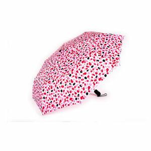 Růžový skládací deštník Tri-Coastal Design