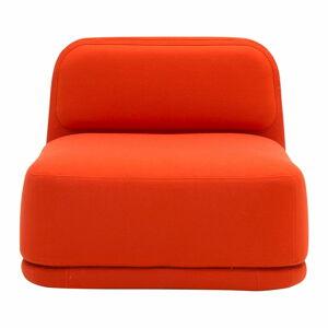 Oranžové křeslo Softline Standby Low