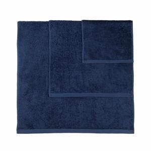 Sada 3 tmavě modrých ručníků Artex Alfa