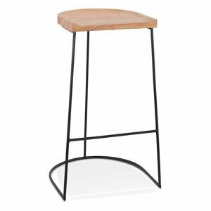 Přírodní barová židle KokoonNallu, výška sedáku 79,5cm