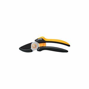 Černé ocelové jednosečné nůžky Fiskars Solid