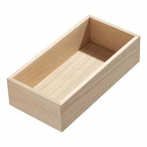 Kuchyňský organizér ze dřeva paulownia iDesign,25,4x12,7cm