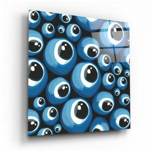 Skleněný obraz Insigne Evil Eye,40 x40cm