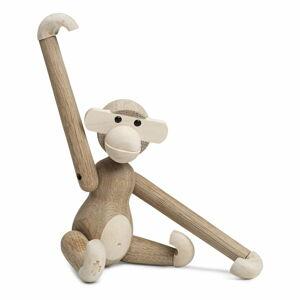 Soška z masivního dřeva Kay Bojesen Denmark Monkey Solid