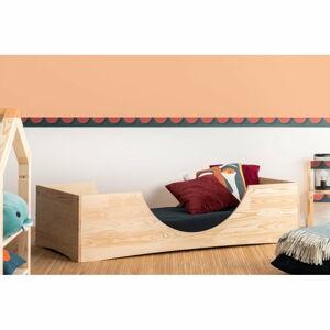 Dětská postel z borovicového dřeva Adeko Pepe Bork,90x140cm