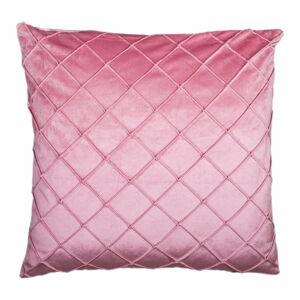 Růžový polštář JAHU Alfa, 45 x 45 cm
