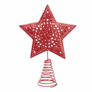Červená hvězda na vánoční strom Unimasa