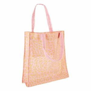 Oranžovo-růžová plážová taška Sunnylife Call of the Wild
