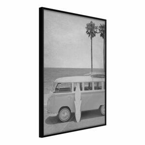Plakát v rámu Artgeist Hippie Van II, 20 x 30 cm