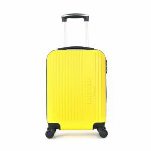 Žluté skořepinové zavazadlo na 4 kolečkách Vertigo Mount Cameroon