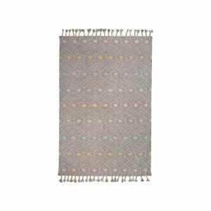 Dětský koberec z recyklovaného polyesteru vhodný do exteriéru Nattiot Dristy,110x170cm