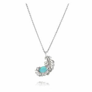 Postříbřený náhrdelník s krystaly Swarovski Saint Francis Crystals Libertad